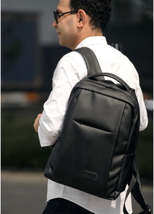 Чоловічий рюкзак Sambag Zard QSH чорний