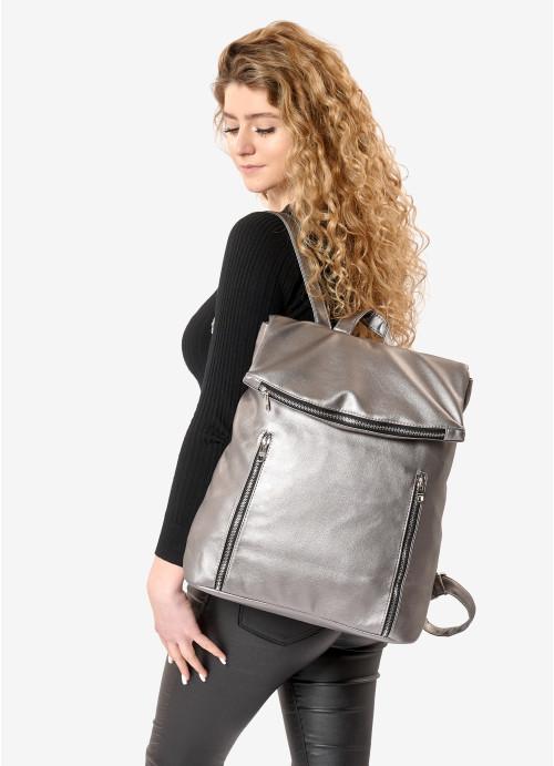 Жіночий рюкзак Sambag Rene LZS silver dark