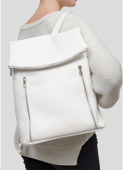 Жіночий рюкзак Sambag Rene LZS білий