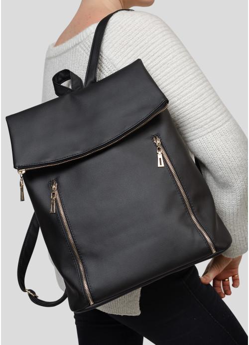 Жіночий рюкзак Sambag Rene LZS чорний