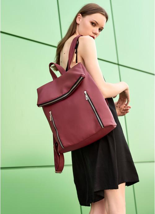 Жіночий рюкзак Sambag Rene LZG бордо