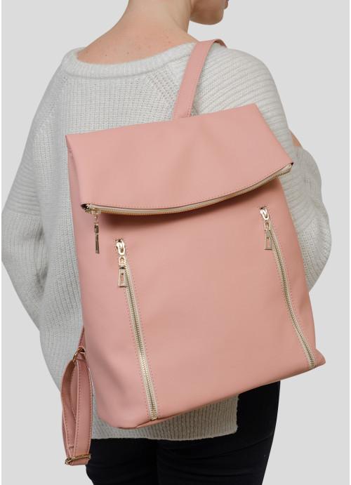 Жіночий рюкзак Sambag Rene LZG пудра