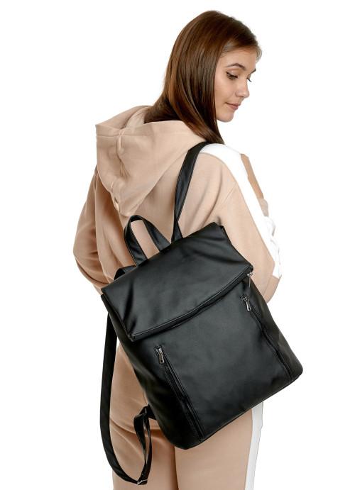 Жіночий рюкзак Sambag Rene LZT чорний