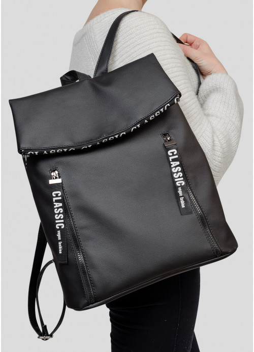 Рюкзак Rene 0ZT чорний