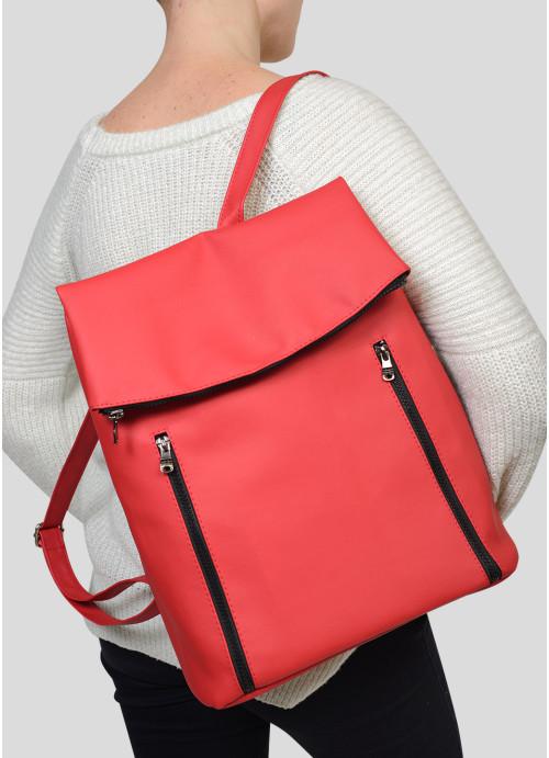Жіночий рюкзак Sambag Rene LZT червоний