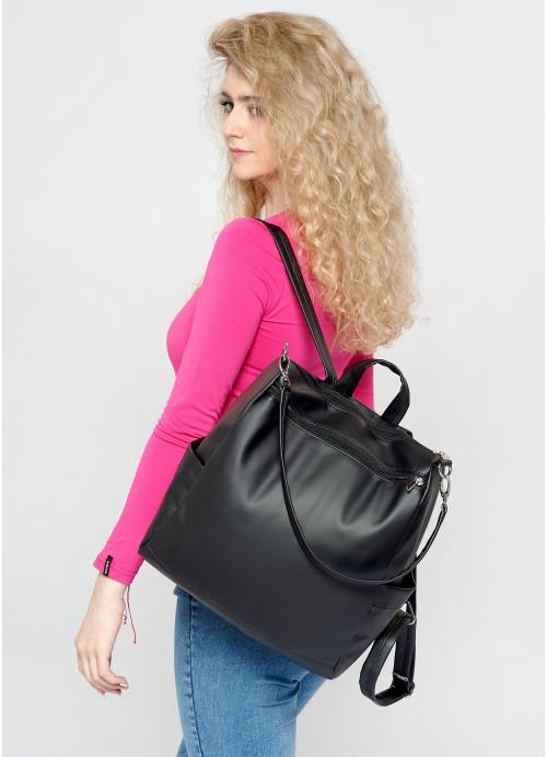 Жіночий рюкзак Sambag Trinity  MZB чорний