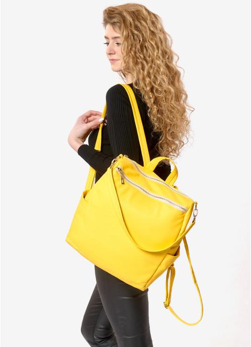Жіночий рюкзак Sambag Trinity  MZO жовтий