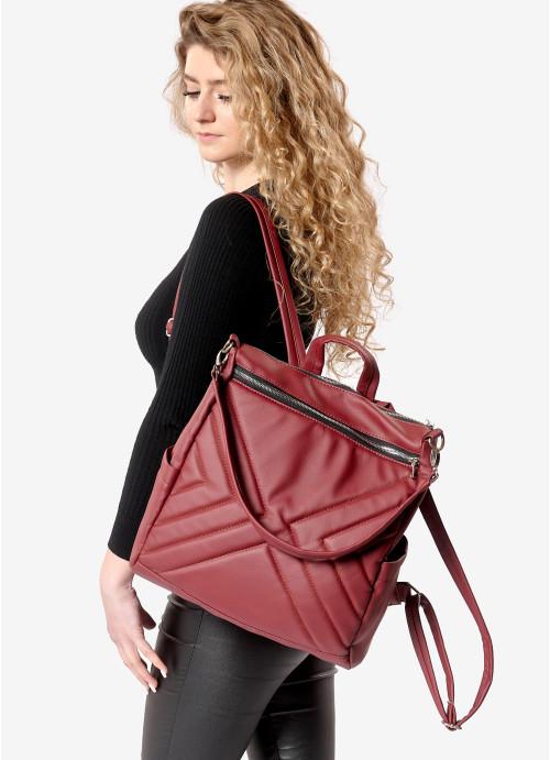 Жіночий рюкзак Sambag Trinity  MSS бордо