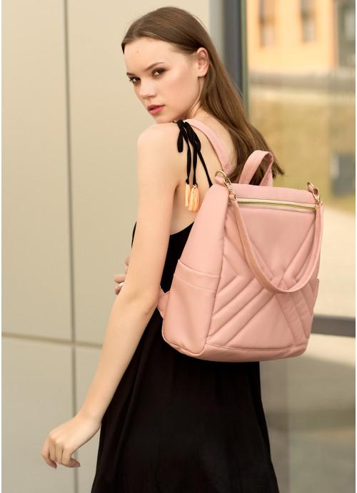 Жіночий рюкзак Sambag Trinity  MSO пудра