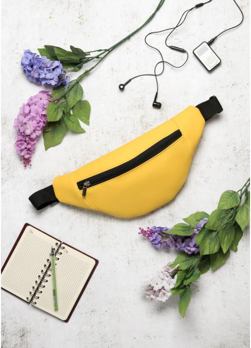 Сумка на пояс бананка Sambag Soho BSH жовтий