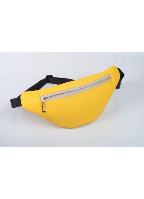 Сумка на пояс бананка Sambag Soho BSO жовтий