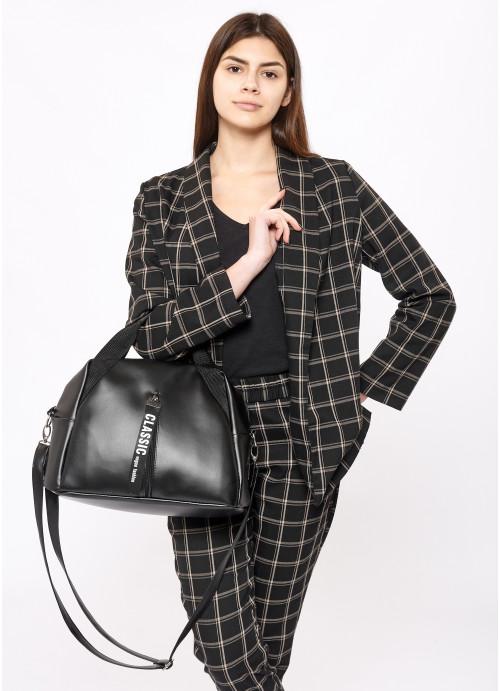 Жіноча спортивна сумка Sambag Vogue BZT чорний