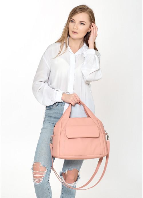 Cпортивна сумка Sambag Vogue BKS пудра