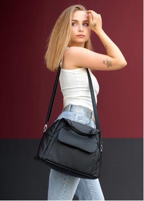 Жіноча спортивна сумка Sambag Vogue BKT чорний