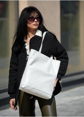 Сумка Sambag Shopper Tote SQN білий