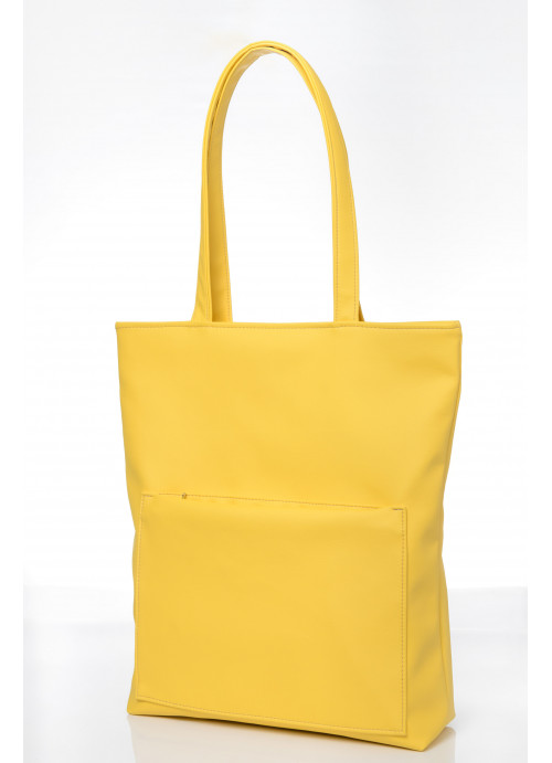 Сумка Sambag Shopper Tote SQN жовтий