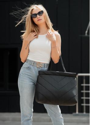 Сумка Sambag Shopper Tote QRS чорний