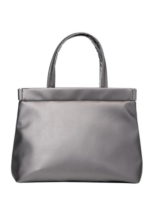 Сумка Sambag Shopper Tote QRS silver dark