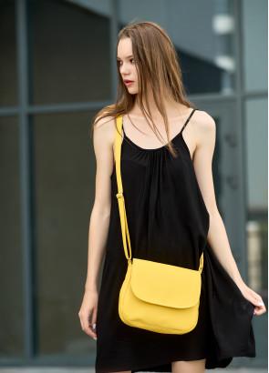 Жіноча сумка Кросбоді Sambag Rose жовта