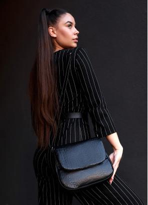 Жіноча сумка Кросcбоді Rose BZN Принт крокодила