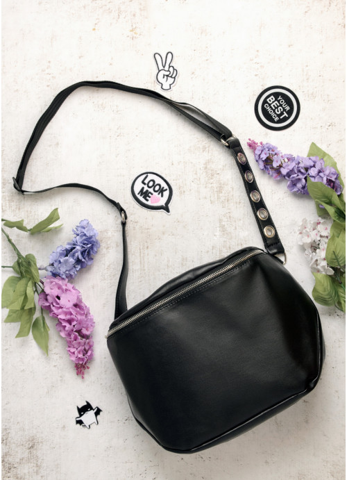 Жіноча сумка Sambag Milano QZS black