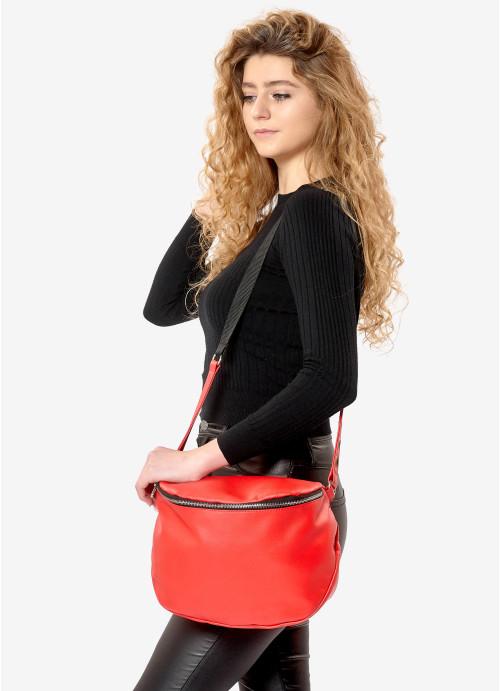 Жіноча сумка Sambag Milano QZS червоний
