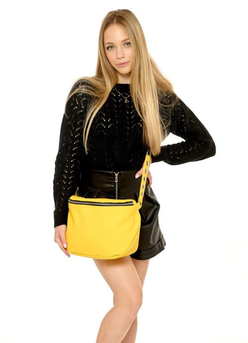Жіноча сумка Sambag Milano QZS жовтий