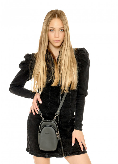 Жіноча сумка Sambag Modena графітова