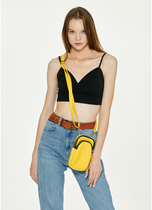 Жіноча сумка Sambag Modena  0GS жовтий